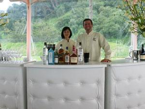 Bar service & bartender at an event